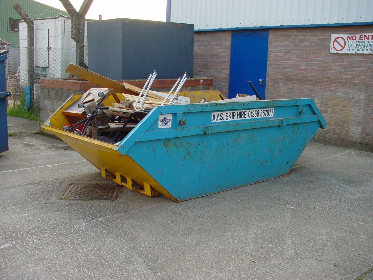 AYS Skip Hire waste removal