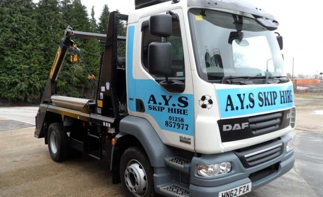 One of our delivery lorries.